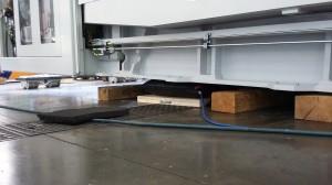Verwendung Hochdruck-Hebekissen für das Heben von Lasten Maschinen
